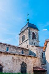 L'église Sainte-Marie-Madeleine de Pérouges