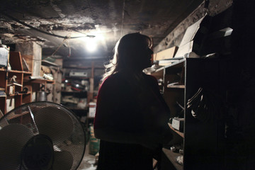 Hotel manager Robin Brekhus recalls her first experience with a ghost in one of the hallways of the basement in the Gadsden Hotel in Douglas
