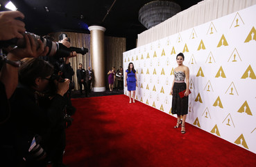Sandra Bullock arrives at the 86th Academy Awards nominees luncheon in Beverly Hills