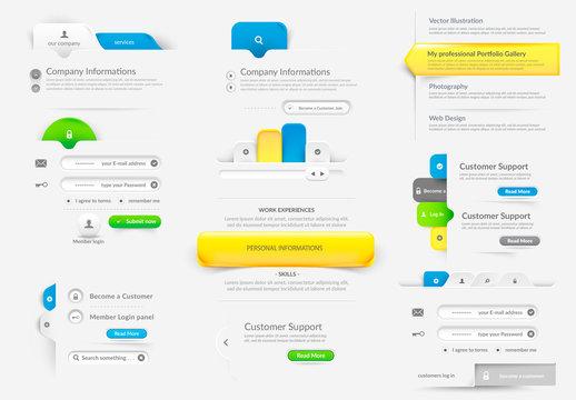 Web UI Navigation Kit 1