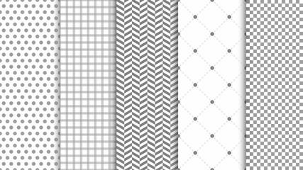 Obraz Modern seamless pattern background. Abstract set for elegant design, fashion universal background - fototapety do salonu