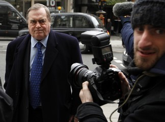 Britain's former Deputy Prime Minister John Prescott, returns to the Leveson Inquiry into the culture, practices and ethics of the media at the High Court in central London