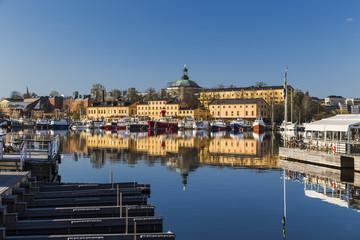 Fototapete - Eastern shore of Sheppsholmen