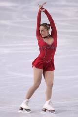 McCorkell of Britain performs her ladies short program at the Bompard Trophy ISU Grand Prix of figure skating competition in Paris
