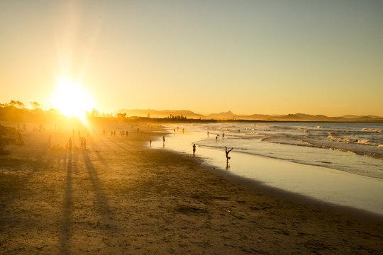 Coucher de soleil - Byron bay