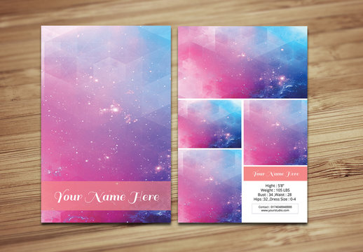 Modeling Business Card Layout 3