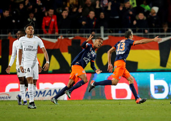 Montpellier v Paris St Germain - French Ligue 1 - Mosson stadium