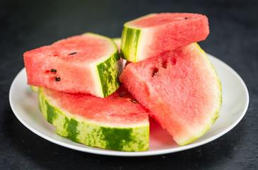 Watermelon (selective focus)