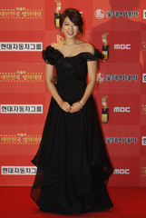South Korean actress Park poses for the media at the 8th Korea Film Awards in Seoul
