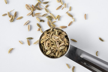 A teaspoon of fennel seeds