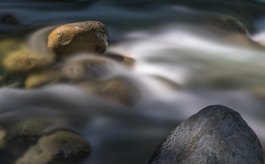 zen water on rocks