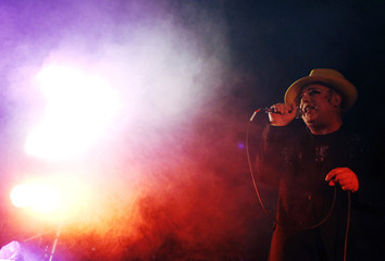 Singer Boy George performs at the Glastonbury Festival 2010 in south-west England