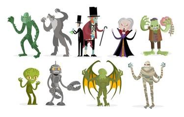 evil horror classic monsters