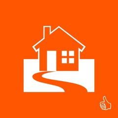 Home vector web icon