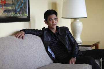 """Cho poses for a portrait while promoting his upcoming movie """"A Very Harold & Kumar 3D Christmas"""" in Beverly Hills"""