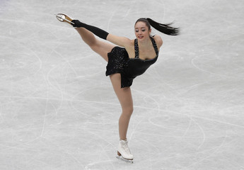 Canada's Kaetlyn Osmond competes during the women's short program at the ISU World Figure Skating Championships in Saitama