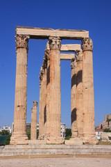 les colonnes du temple de Zeus