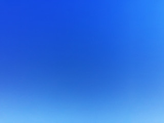 Blue sky background and empty space for your design, no cloud