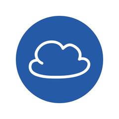Cloud doodle symbol icon vector illustration graphic design