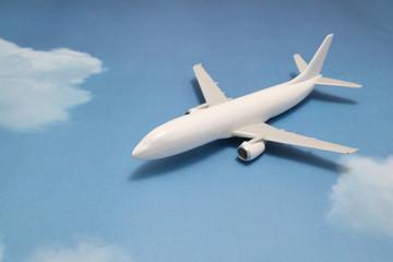 飛行機 青空 ミニチュア