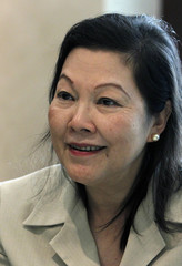 Bank of Thailand Deputy Governor Atchana Waiquamdee gives an interview to Reuters in Bangkok