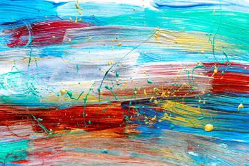 Color oil painting texture for bright background