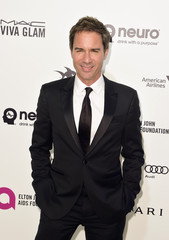 Actor Eric McCormack arrives at the Elton John AIDS Foundation Academy Awards Viewing Party in West Hollywood