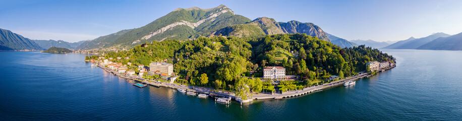Villa Carlotta - Lago di Como (IT) - Tremezzina -  Vista aerea panoramica della costa