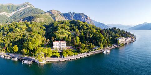 Villa Carlotta - Lago di Como (IT) - Tremezzina -  Vista aerea panoramica