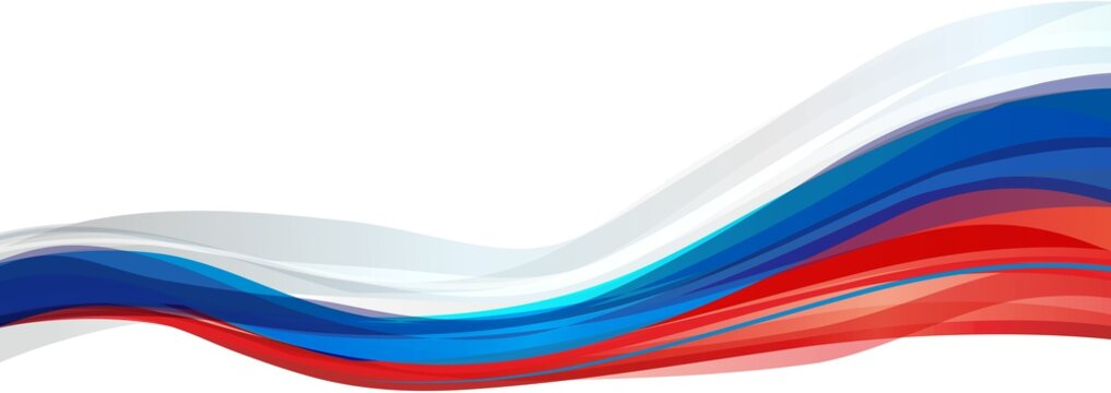 Flag of Russia, white blue red flag Russia