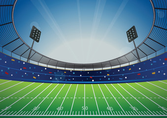 American Football Stadium Arena