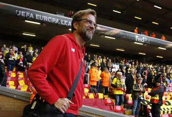 Liverpool v Borussia Dortmund - UEFA Europa League Quarter Final Second Leg