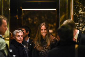 Stephanie Winston Wolkoff arrives at Trump Tower in New York City