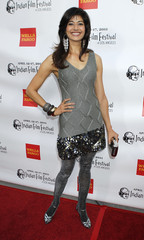 Indian actress Pooja Batra at the opening night gala of the Indian Film Festival in Hollywood