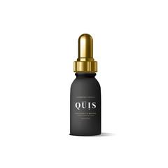 Realistic essential oil beige bottle