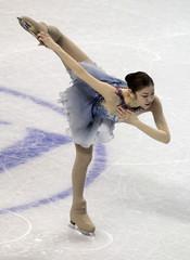 Yuna Kim of South Korea performs during the Ladies Short Program at the ISU World Figure Skating Championships in London, Ontario