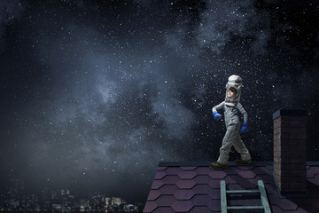 Dreaming of becoming a spaceman