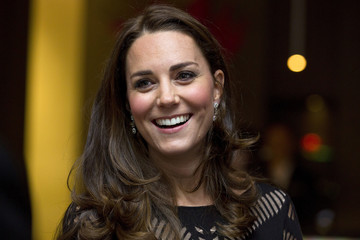 Britain's Catherine, Duchess of Cambridge, smiles during an Autumn Gala evening in support of Action on Addiction, in London