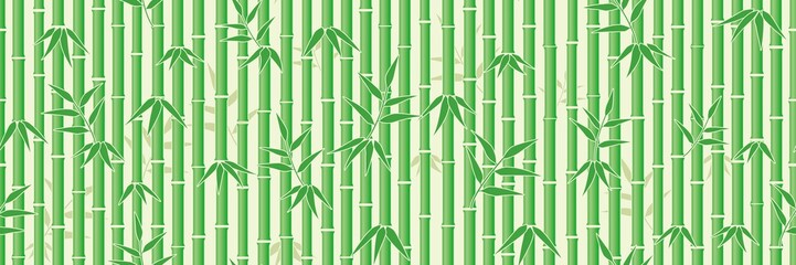 Bamboo background. Seamless pattern.Vector. 竹のパターン