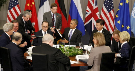 Obama attends the  Nuclear Summit  in Washington