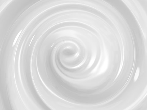 swirl cosmetic cream