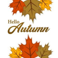 Autumn concept illustration vector