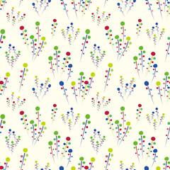 Organic background. Seamless pattern.Vector. 植物パターン