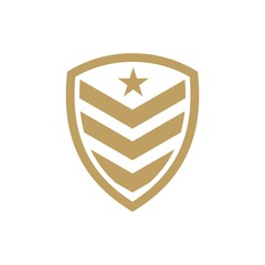 Army and military logo design logo