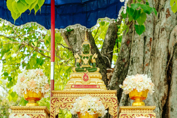 The emerald buddha statue