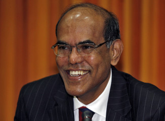 Reserve Bank of India Governor Duvvuri Subbarao poses in Mumbai