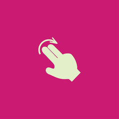 Touch Icon,vector Illustration