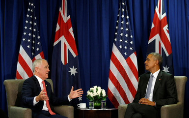 Obama and Turnbull meet at the APEC Summit  in Lima, Peru