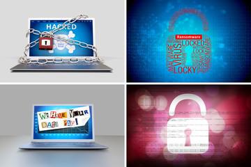 Virus - Ransomware - Hacker
