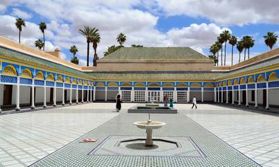 Bahia Palace in Marrakech, Morocco